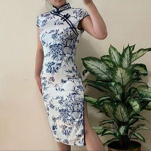 Traditional qibao dress